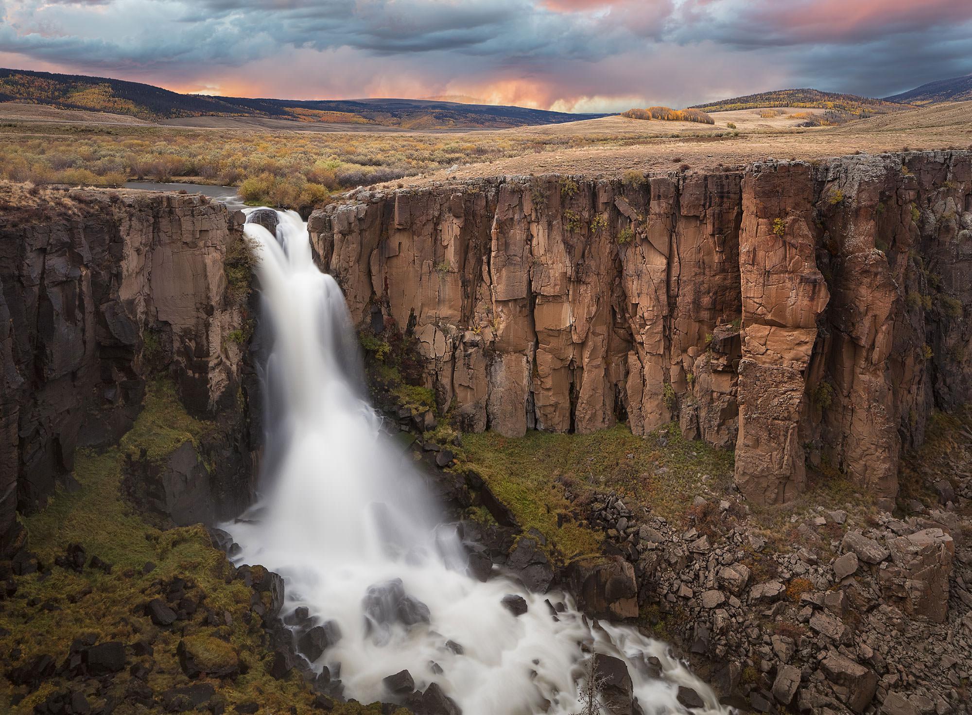 North creek falls - Near Lake City, CO