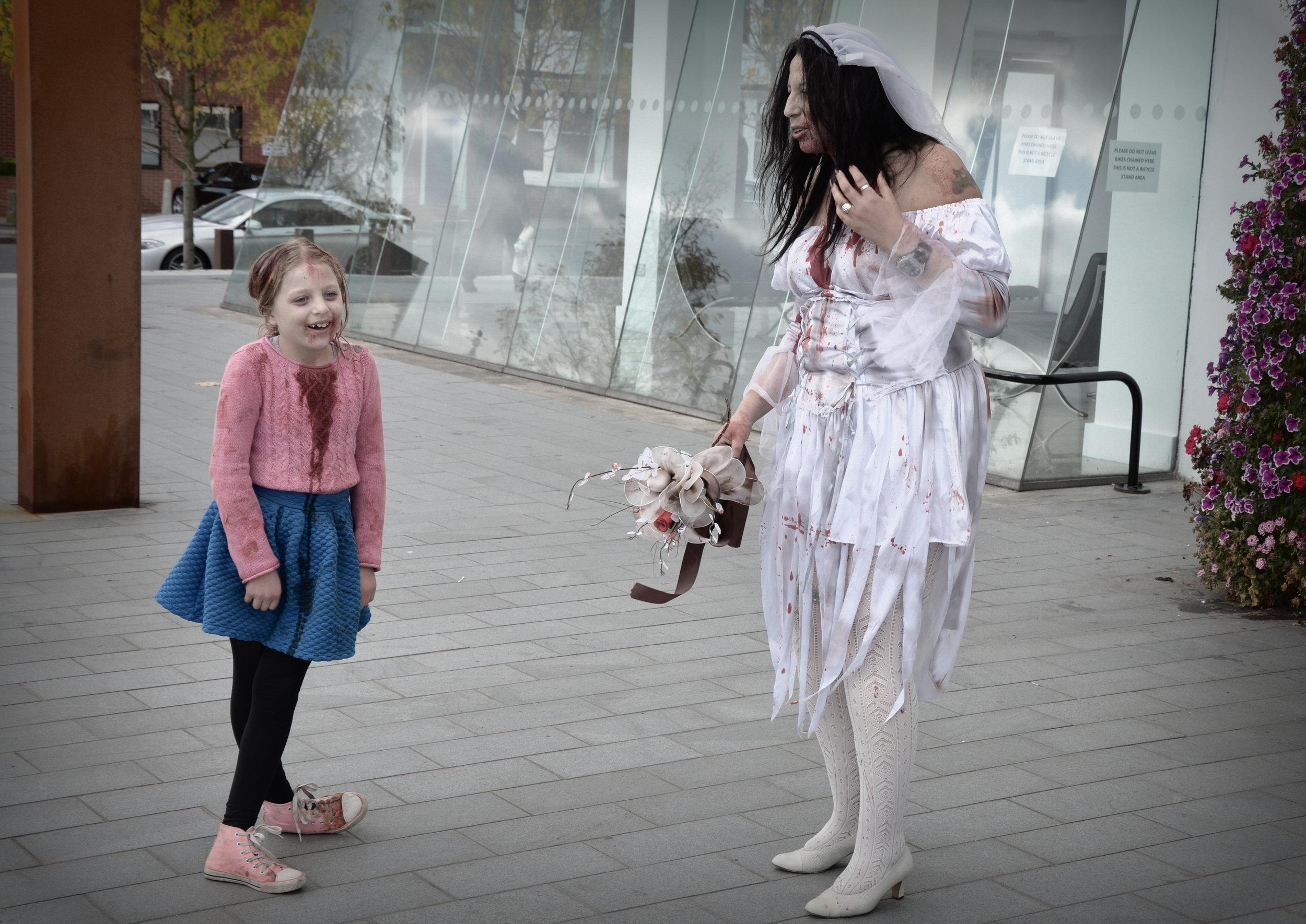 Zombies, Still film set the Jewellery Quarter