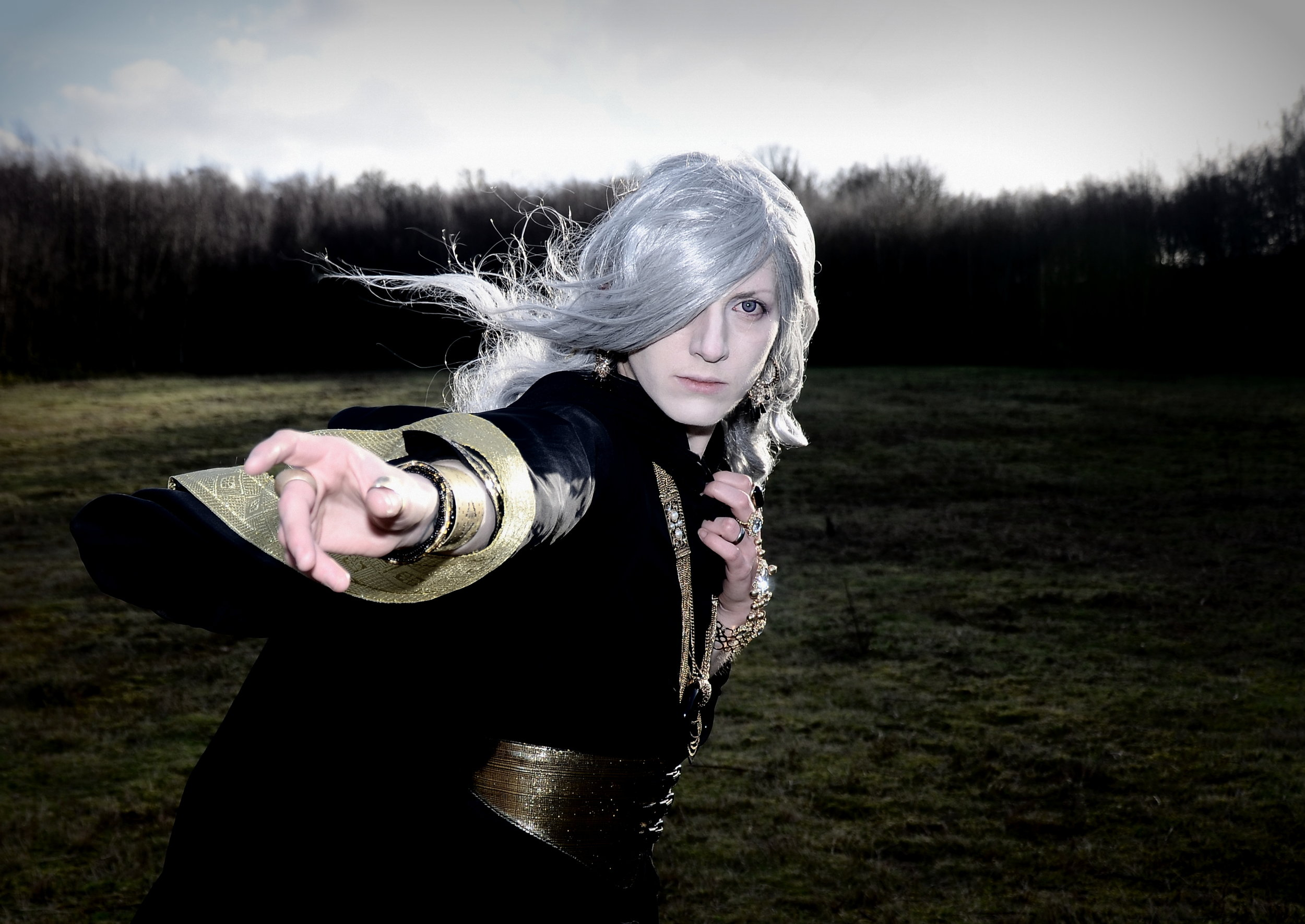 Wizard cosplay shoot