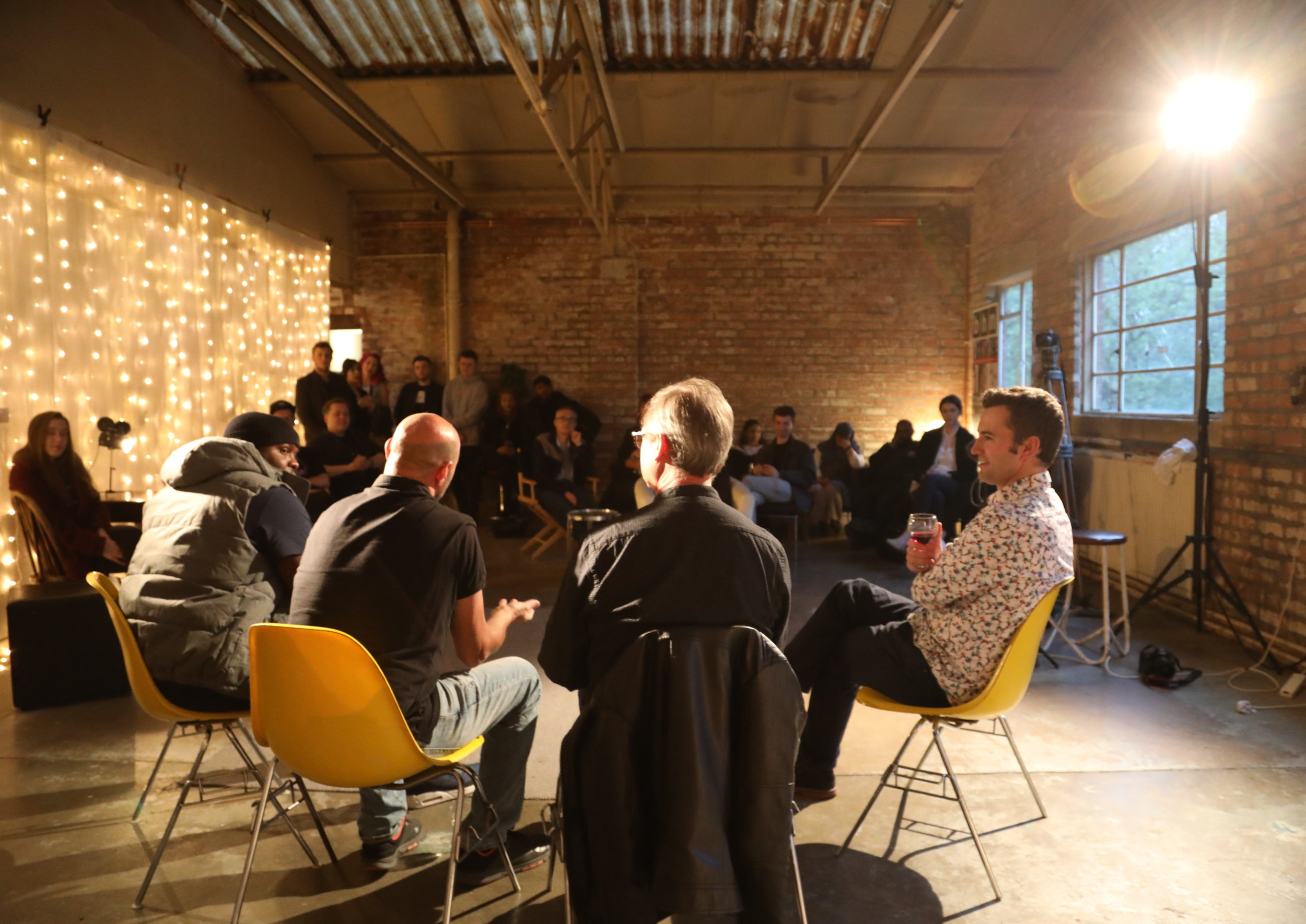 Panel discussion at 2Weeks 2Make It Midlands launch