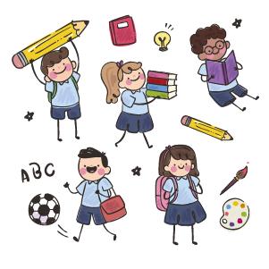 День 26 - В разных странах существуют разные типы школ. У нас школа это единый комплекс от 1 класса и до 11. В других странах все совсем наоборот.