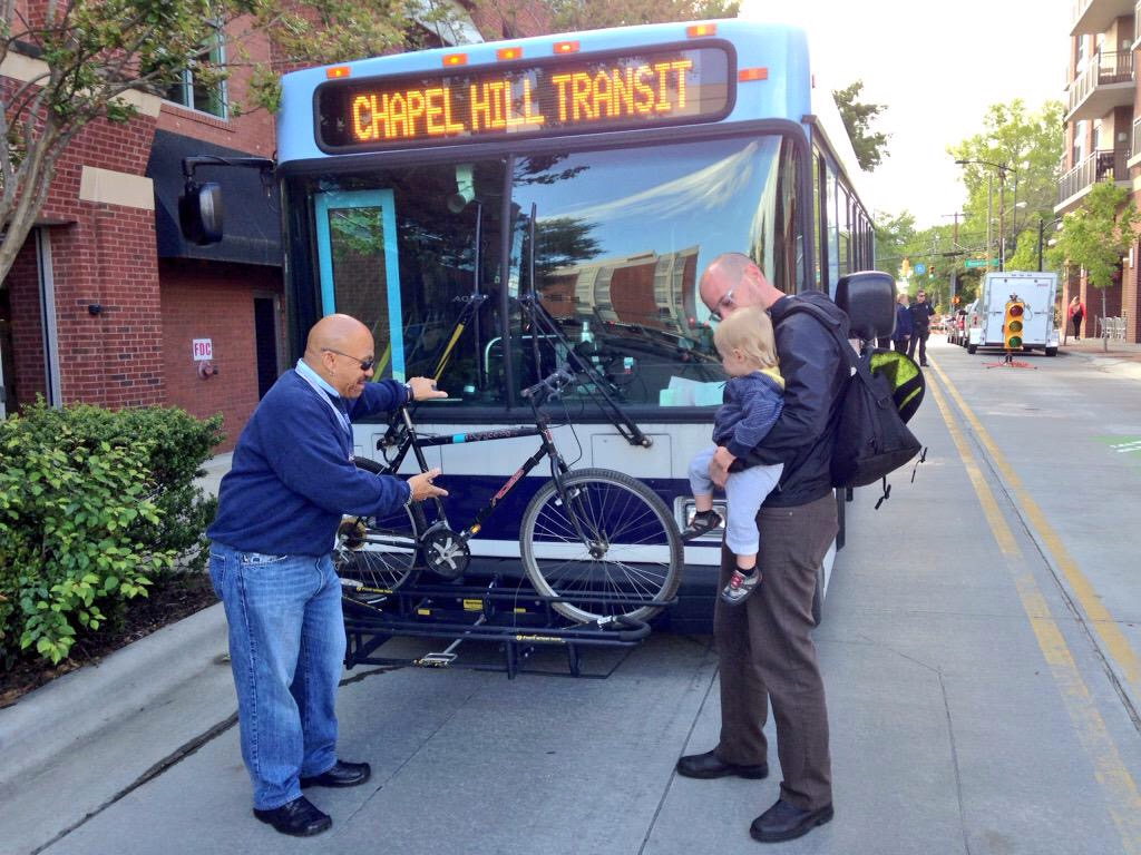 Chapel Hill Transit's Bike & Bus Program