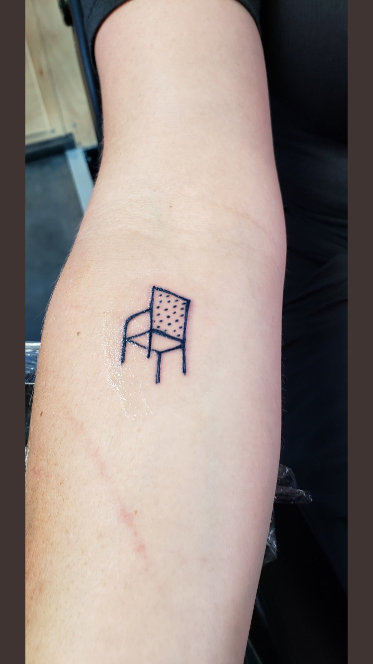 Raise The Chair Tattoo