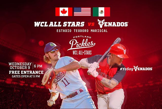 """Fan Favorite and Three year Pickles legend Joey """"Coooooop"""" Cooper will be Heading to Mazatlan, Mexico to play @VenadosBaseball! @coop_a_loop10 will be joined by some superstars to be announced soon. Will you be going? Packages available now for Pickles fans to Join the fun! #getpickled #YoSoyVenados 🦌"""