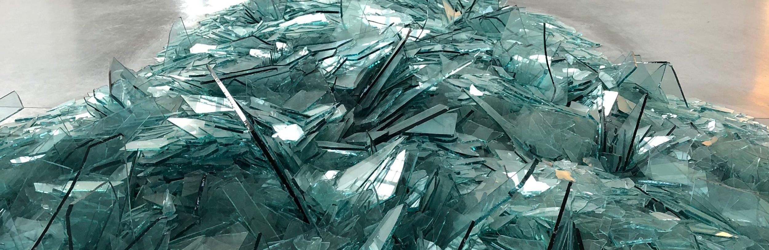 Map of Broken Glass (Atlantis)  by  Robert Smithson as seen at DIA: Beacon