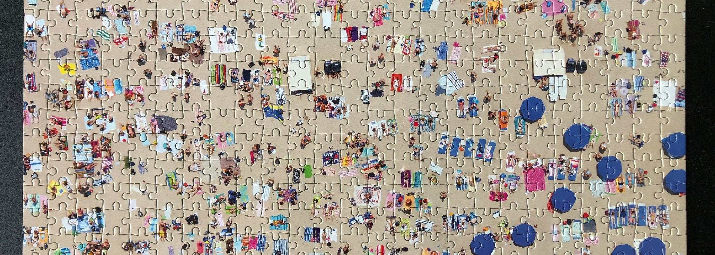 Puzzle of Jones Beach