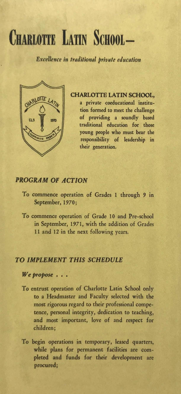 1970 Informational Brochure