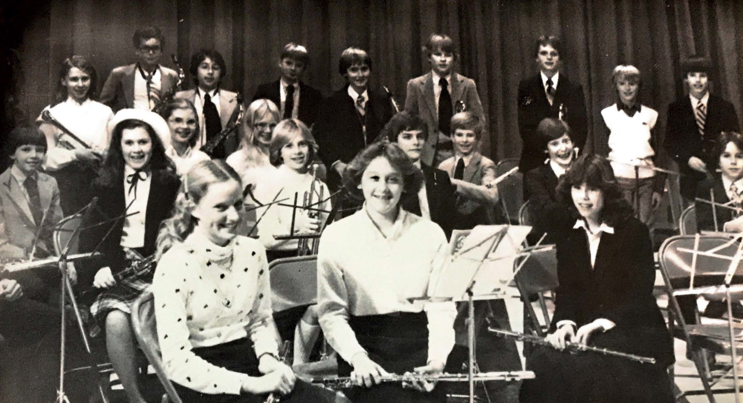 Early band students