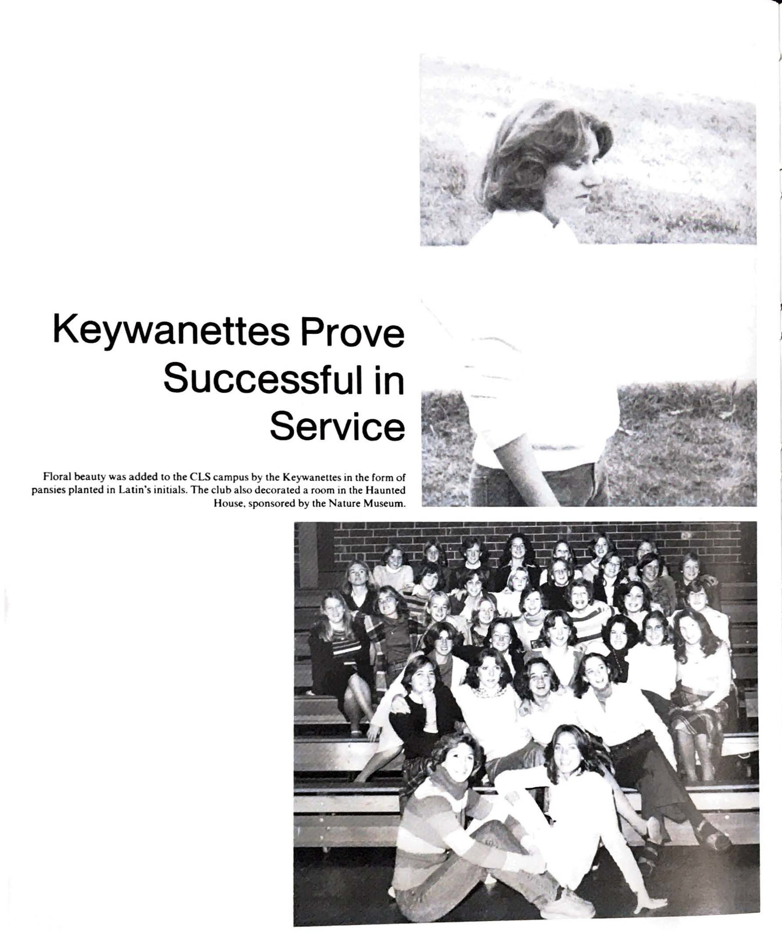 1978 Keywanettes Club