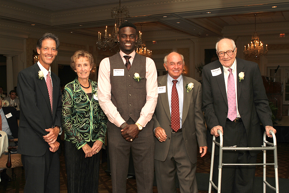 Latin's inaugural class of Athletic Hall of Fame inductees include: Pender Murphy '77, Bev Earle, Anthony Morrow '04, Jerry Faulkner and Howard Pitt (now deceased) in addition to David Thompson and Bob Patten, both deceased.