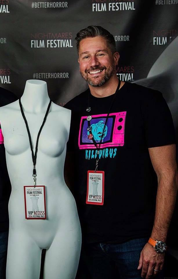Guest Author: Jason Tostevin, co-founder  Nightmares Film Festival