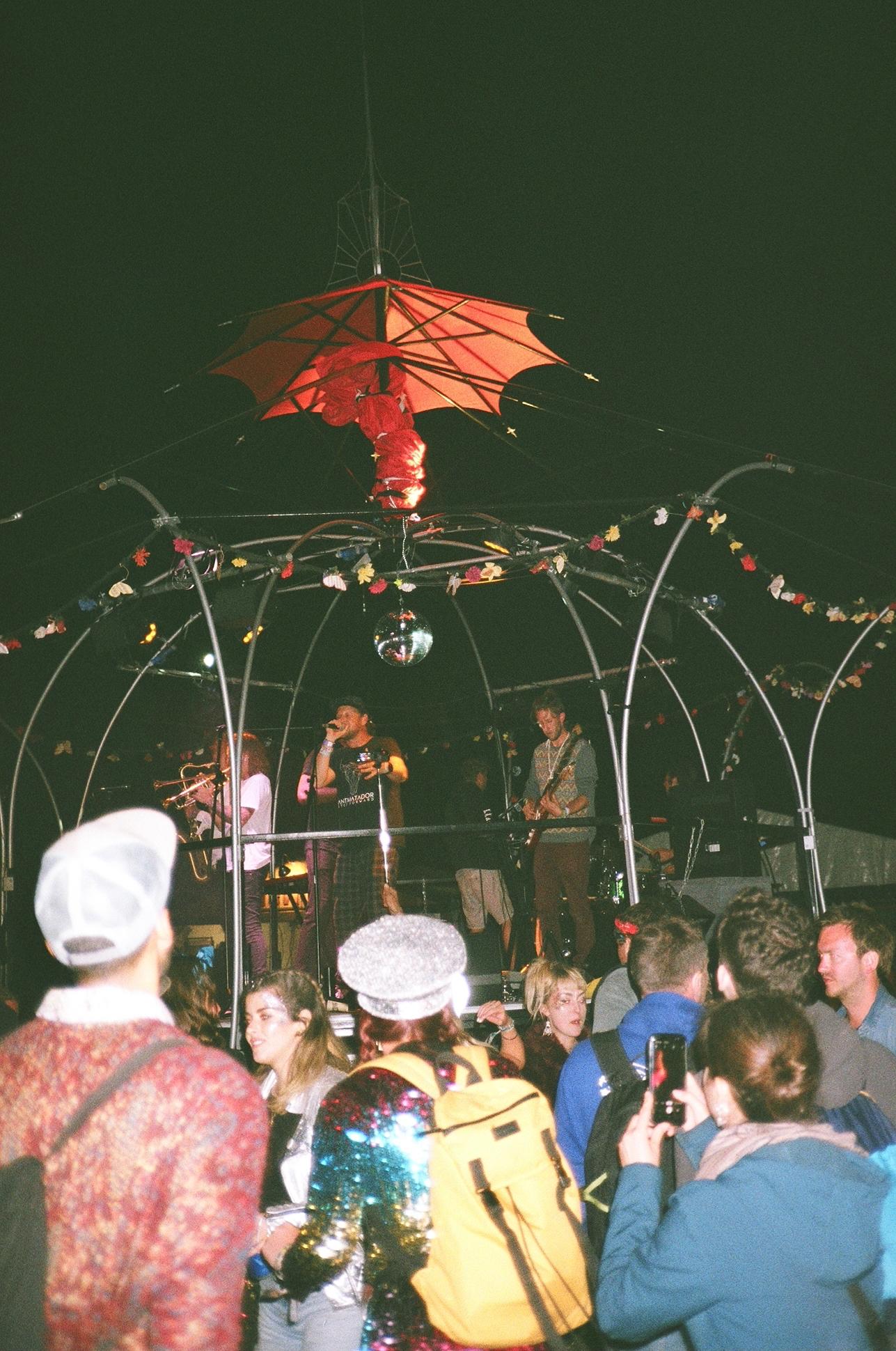 Sunday night jazz set in William's Green