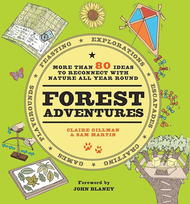 Really excited to share the cover for our fantastic book coming out on THURSDAY! Forest Adventures is a compendium of activities for the whole family to unplug and have fun - with a foreword from John Blaney who pioneered the Forest School movement here in the UK. We'll be posting about this book all week so keep your eyes peeled... 👀 Link in bio to pre-order ☝🏼☝🏼☝🏼 • • • • • • #modernbooks #forestschooling #forestschool #outdooradventures #unplug #getoutside #johnblaney #forest #unplug #connectwithnature