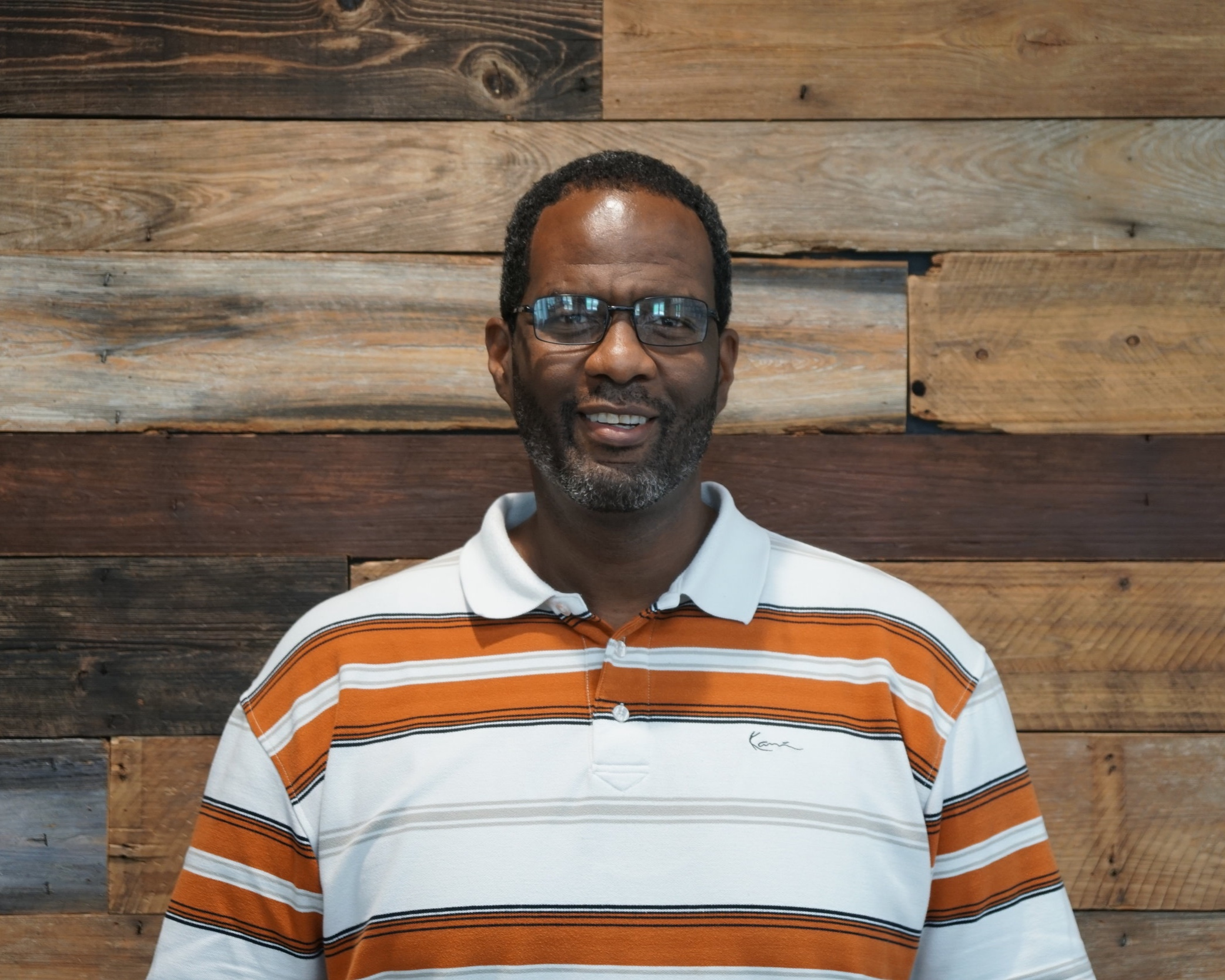 """Pastor Reggie Green - YouthReggie moved to Sarasota in 2004 after playing college and pro football (Florida Gators/ Denver Broncos). He has attended CCS for over 7 years and has been on staff as our Youth Pastor since 2016. Reggie and his wife Sara have 4 girls.""""I enjoy listening to sermons, watching football and watching amazon prime shows with my wife"""""""