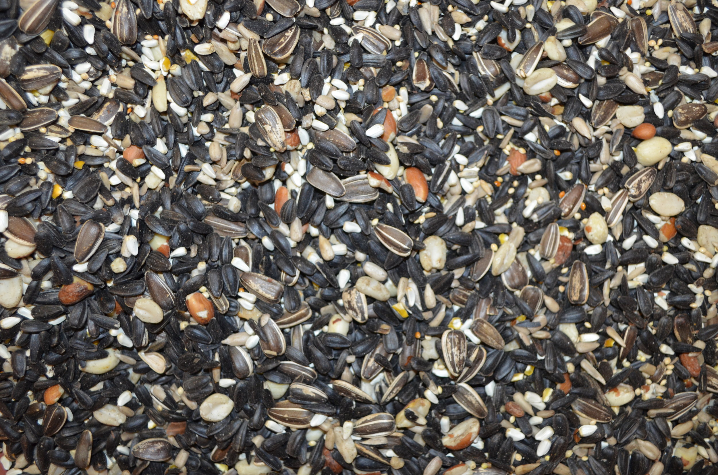 Deluxe Cardinal  Sunflower Seeds, Peanut Hearts, Hulled Sunflowers, Safflower  ATTRACTS CARDINALS, JAYS, FINCHES, & CHICKADEES
