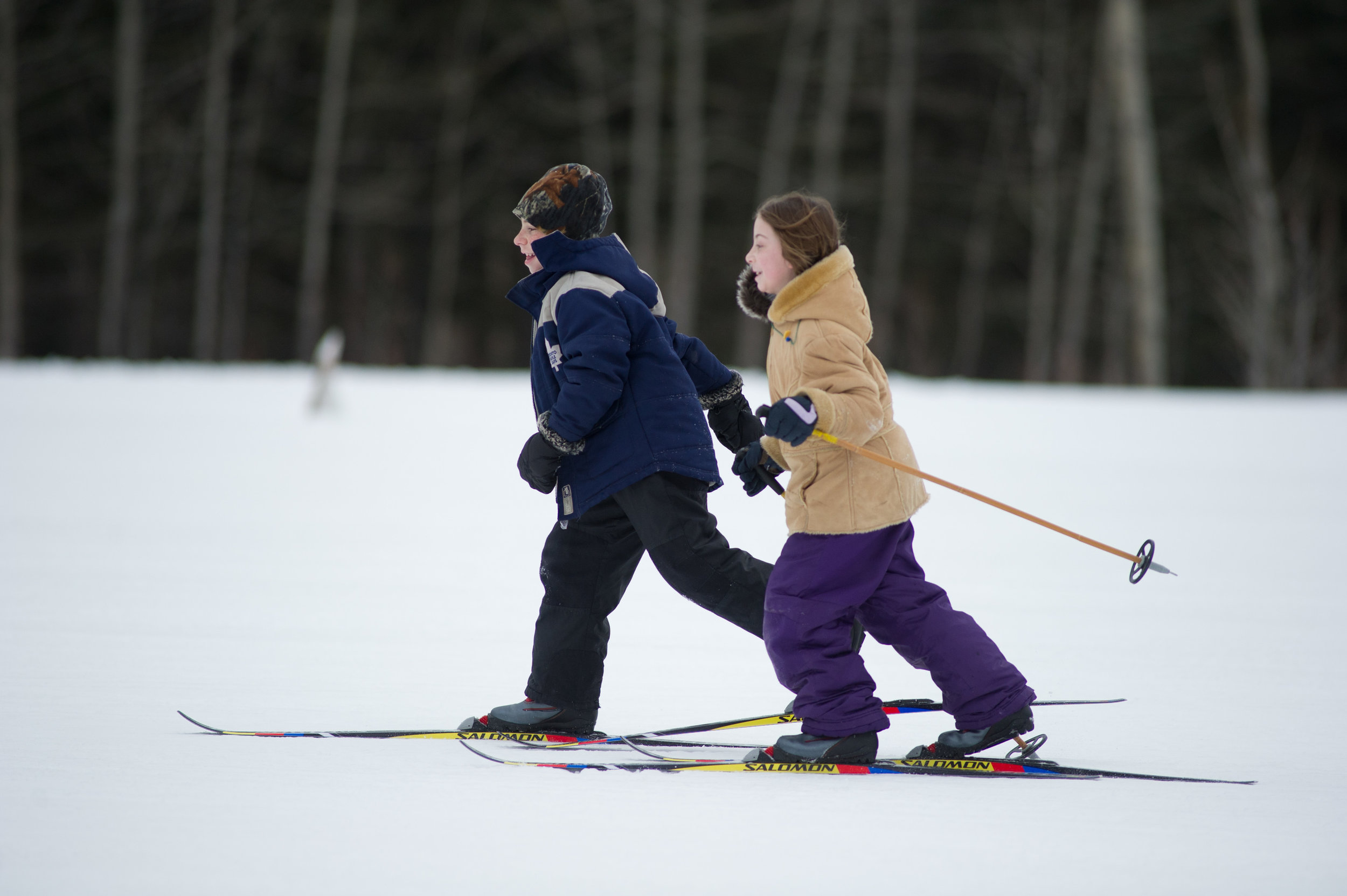 2 Children Skiing at Nordic Centre.jpg