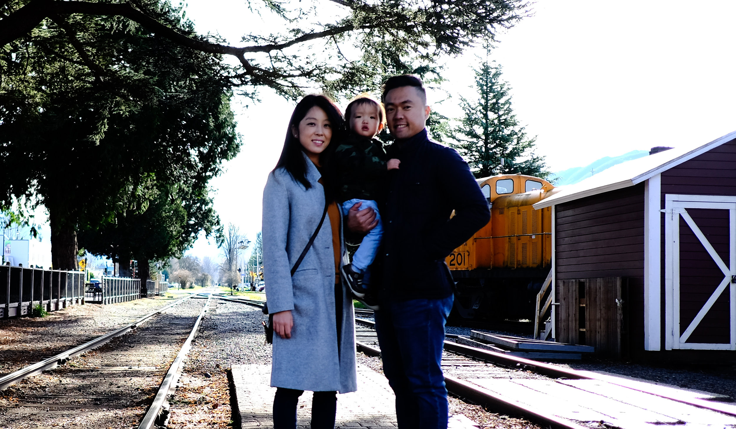 Dr. Jiwon Gwak and Family