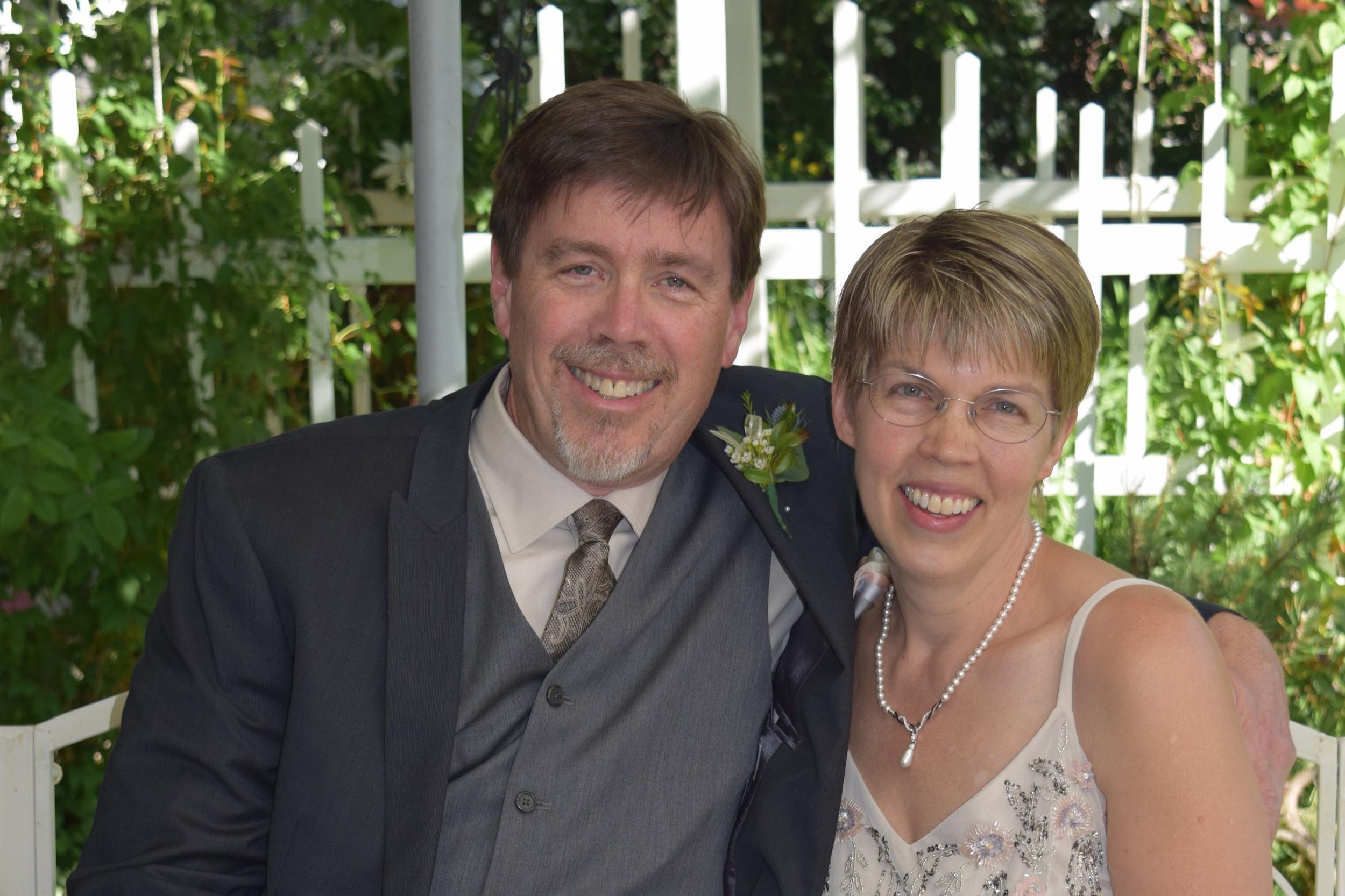 Dr. Kela Haller Ness and Husband
