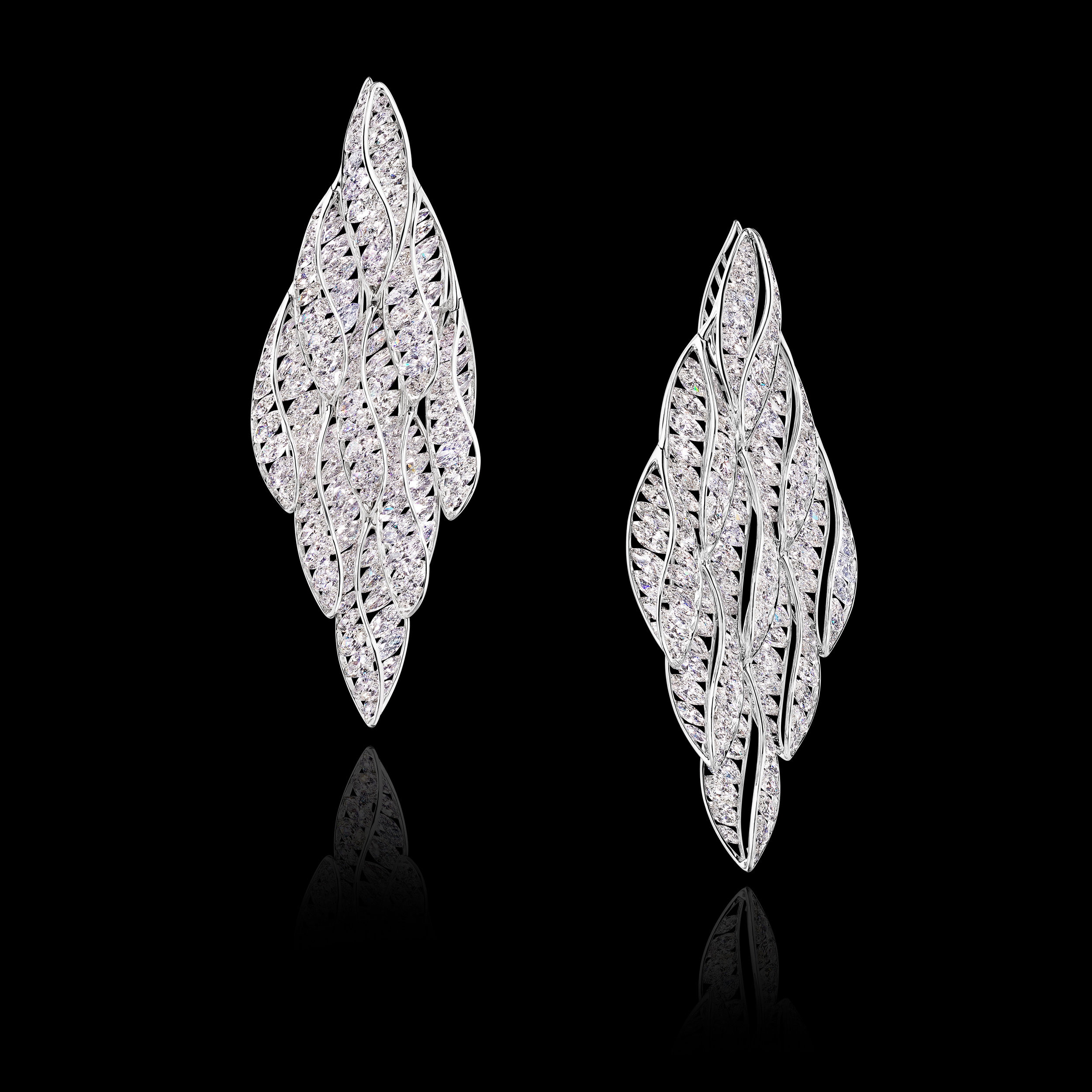 DIAMOND CHANDELLIER EARRINGS