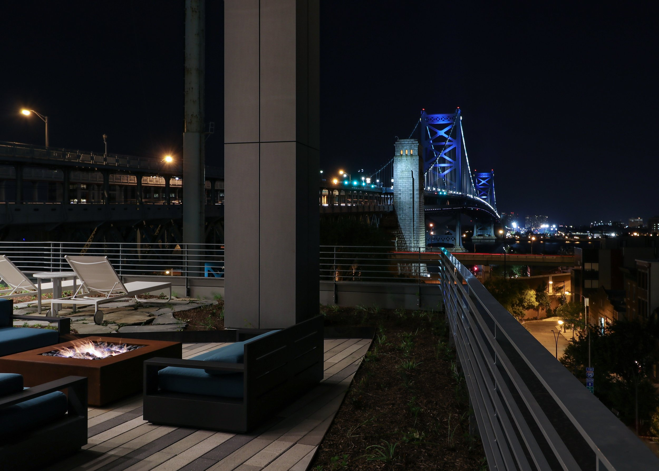 Stars and Lights. Fire Pit and Bridge.jpg