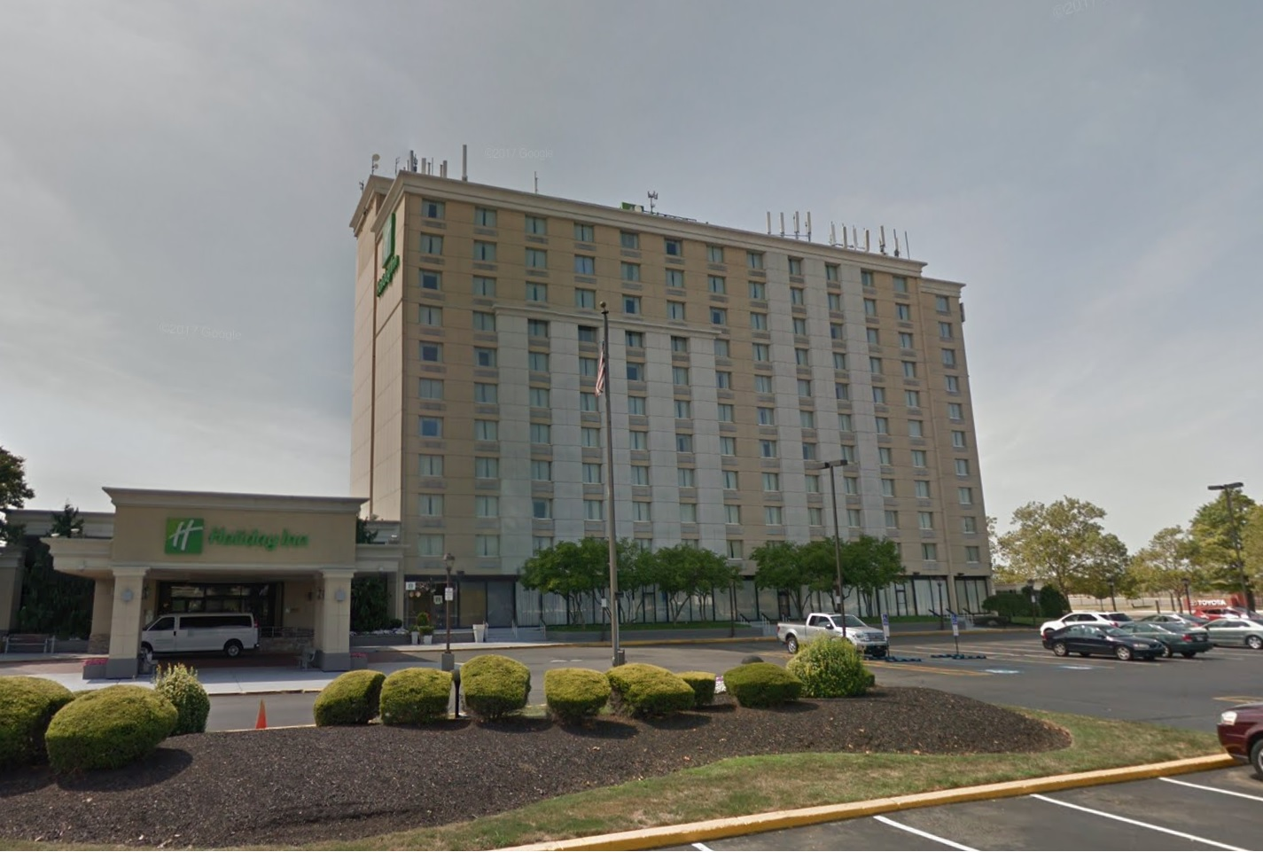 The Holiday Inn - Before Demolition