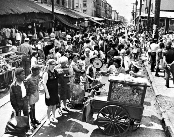 Italian Market Festival circa 1976