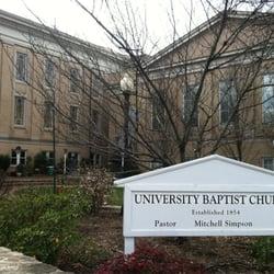 The Church at NC meets at University Baptist