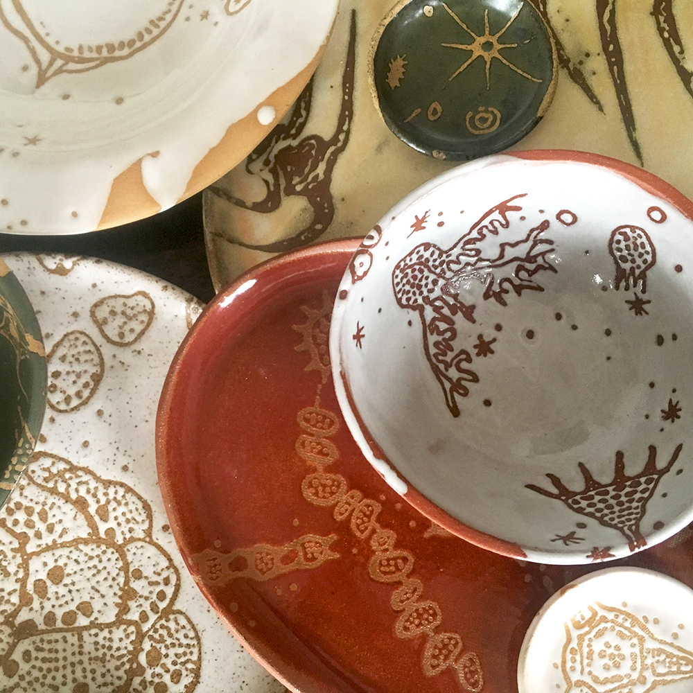 Small bowl and platter, petit and dinner plates, charger and more