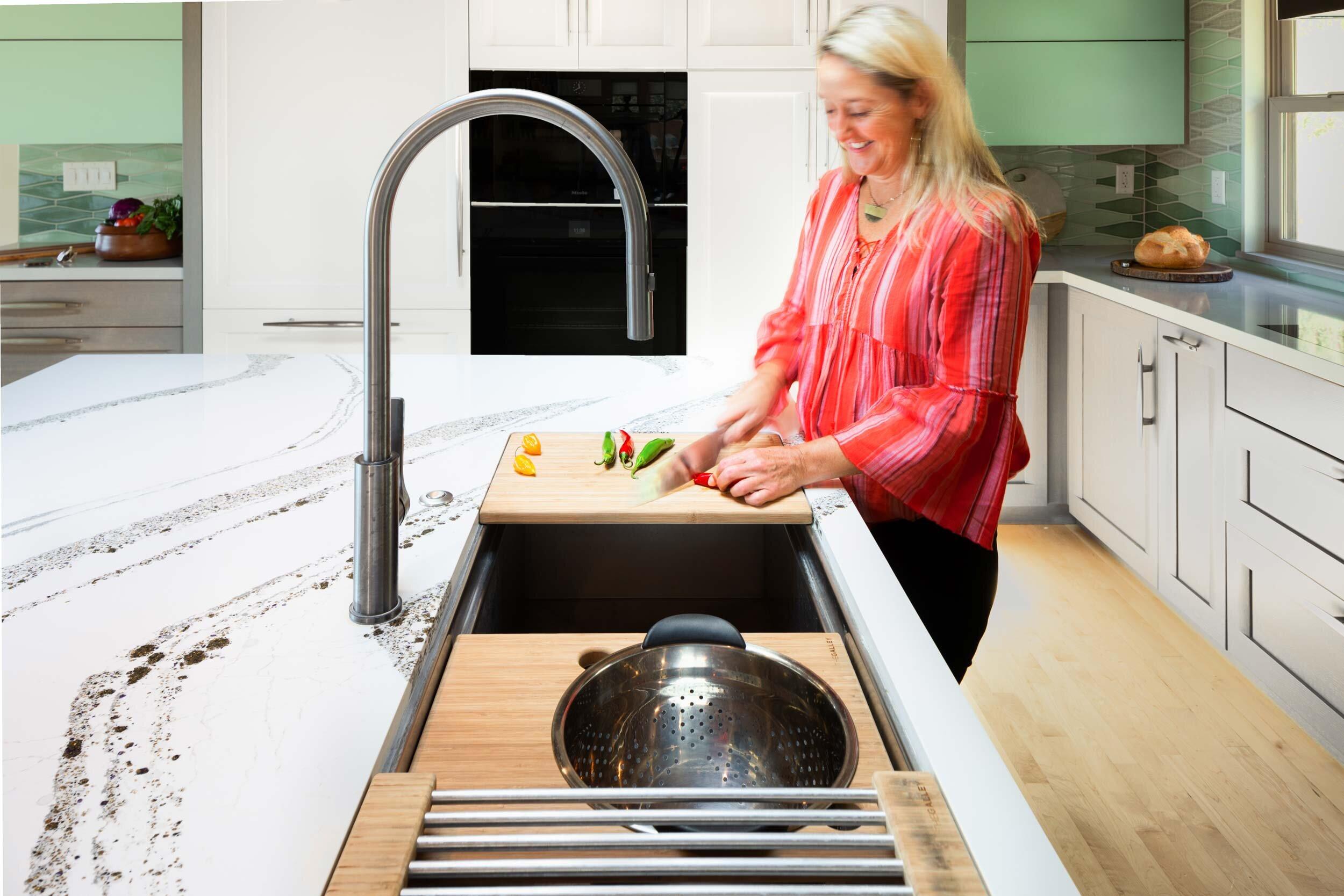 Kitchen Sink In My Island