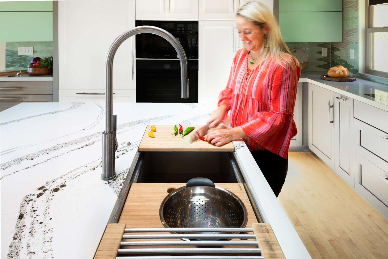Should I Put A Kitchen Sink In My Island Urbana Design Studio