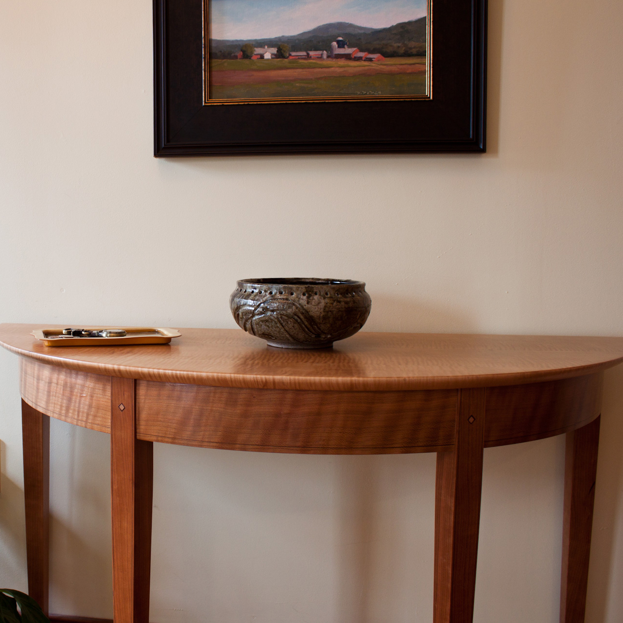 bedroom-furniture-accent-table-demilune-wall-occasional-table