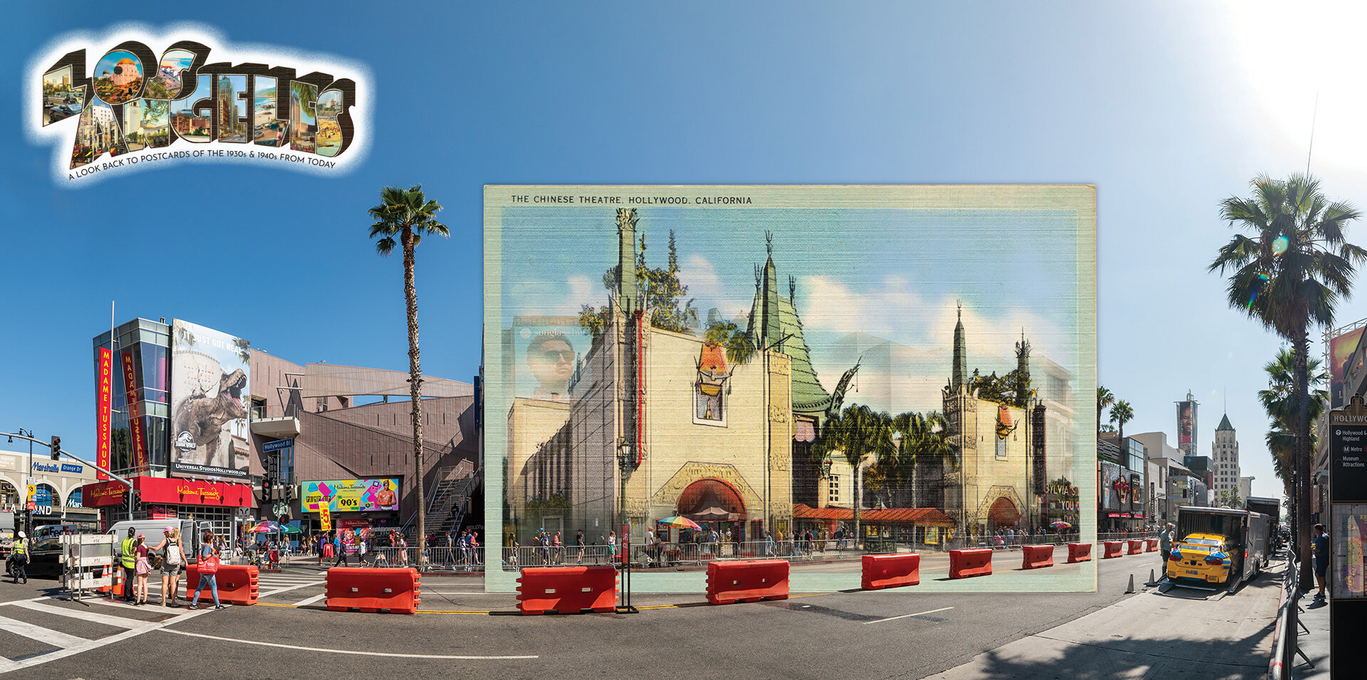Featured Artwork: The Chinese Theatre, 1937 and Today - See More