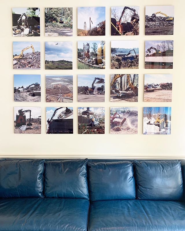 They let me redecorate the front office so I used 16x16 metal prints from @socialps to show off some of our best work.