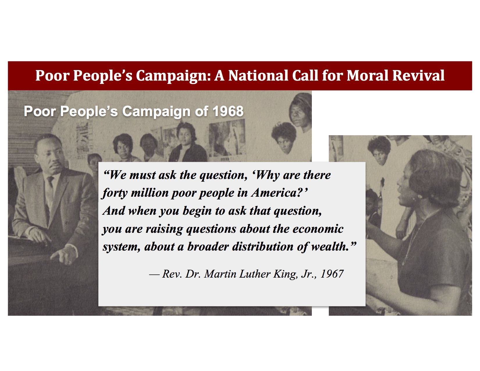 Intro to NYS Poor People's Campaign - This Intro to NYS Poor People's Campaign presentation may be used to introduce the New York Poor People's Campaign: A National Call for Moral Revival to your community, organization, church, or school.