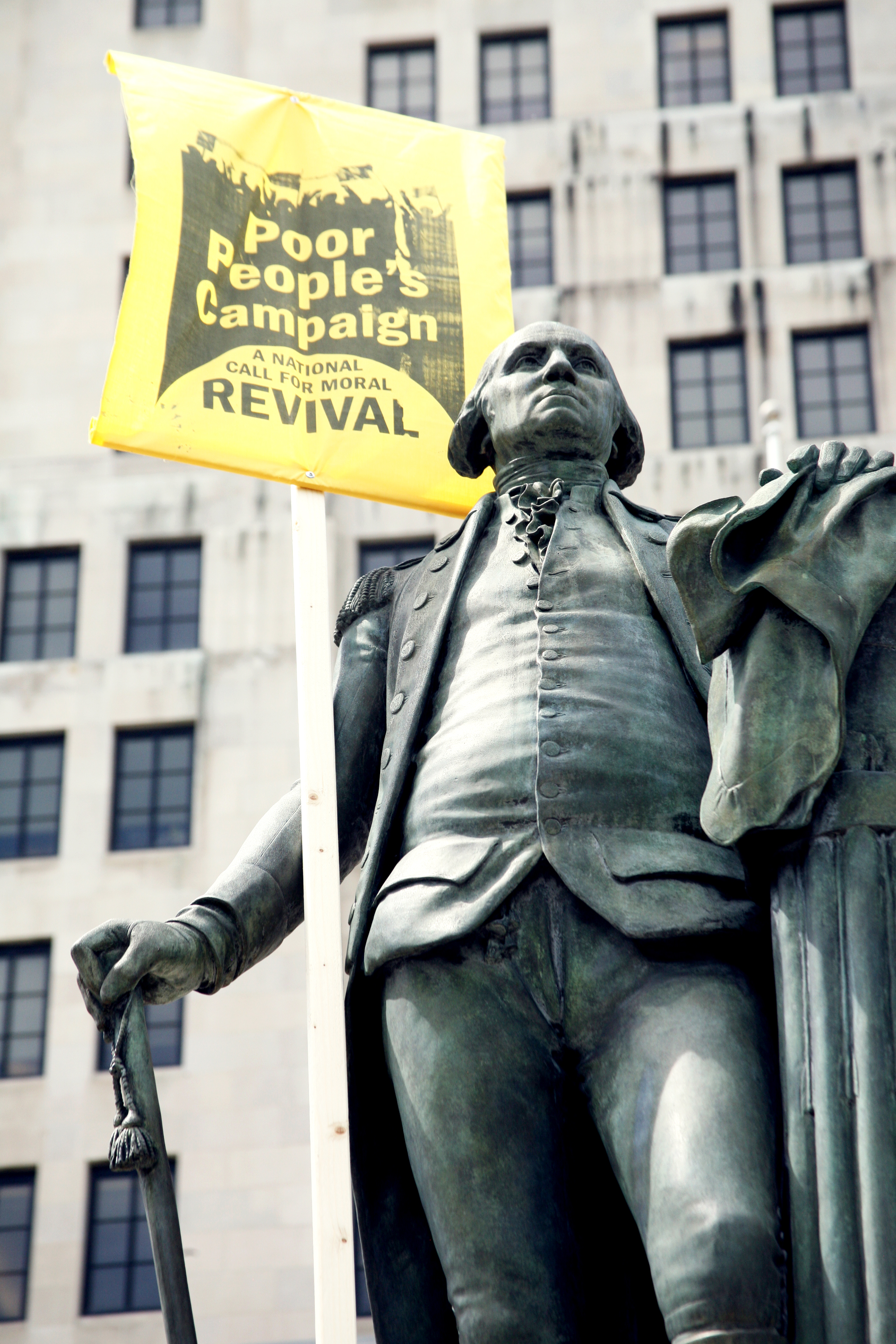 """The  Poor People's Campaign: A National Call for Moral Revival  is building a state-based nationwide movement led by the poor and dispossessed to end poverty, systemic racism, militarism and ecological devastation.  New York is one of 40 states that took part in 40 Days of Action launching the Campaign in May and June, 2018. In this first phase, we engaged thousands of New Yorkers in direct action, political education, and cultural expression that lifted up the stories of the directly impacted and demanded that our state """"fight poverty, not the poor.""""  Now in phase two of the Campaign, we're organizing in communities across New York to build a multi-issue, multi-racial, multi-faith, intergenerational movement prepared to work together for the long-haul. Your donations make that organizing work possible.  Thank you for being a part of this movement!    Labor-Religion Coalition of New York State    - a 501(c)3 organization - is the fiscal sponsor of the New York State Poor People's Campaign: A National Call for Moral Revival. Donations are tax-deductible."""
