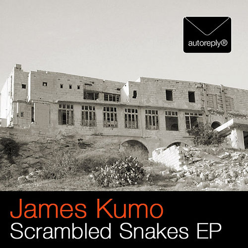 SCRAMBLED SNAKES EP - LABEL ARTWORK - Released on Autoreply Records (Berlin, Germany)