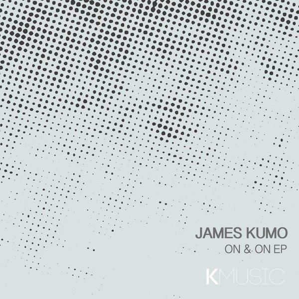 on & on EP - LABEL artwork - Released on KMusic (Manchester, UK).