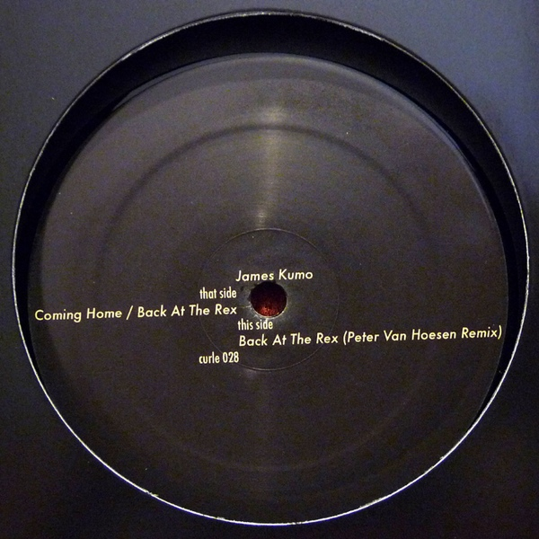 COMING HOME EP - LABEL ARTWORK - Released on Curle Recordings (Belgium).