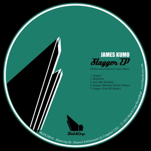 STAGGER EP - LABEL ARTWORK - Released on Biatchcorp Recordings (New York, USA).