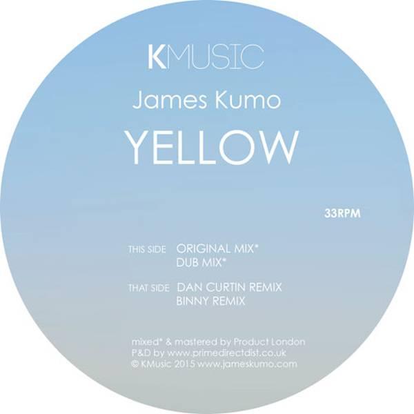 YELLOW EP - LABEL ARTWORK - Released on KMusic (Manchester, UK)
