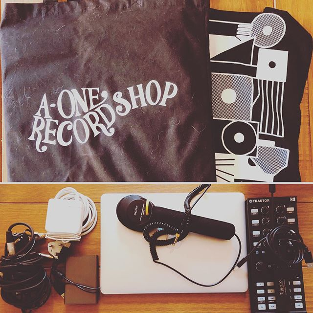 The essentials packed! Tonight we'll be spinning 6hrs of balearic vibes -  90bpm chuggers -  disco fused beats -  electronic grooves. 8-2. Free entry! @33oldhamstreet ... #odyssey #djs #jameskumo #stefdarogue #disco #balearic #house #electronicmusic #33oldhamstreet #northernquartermanchester #manchester #freeentry