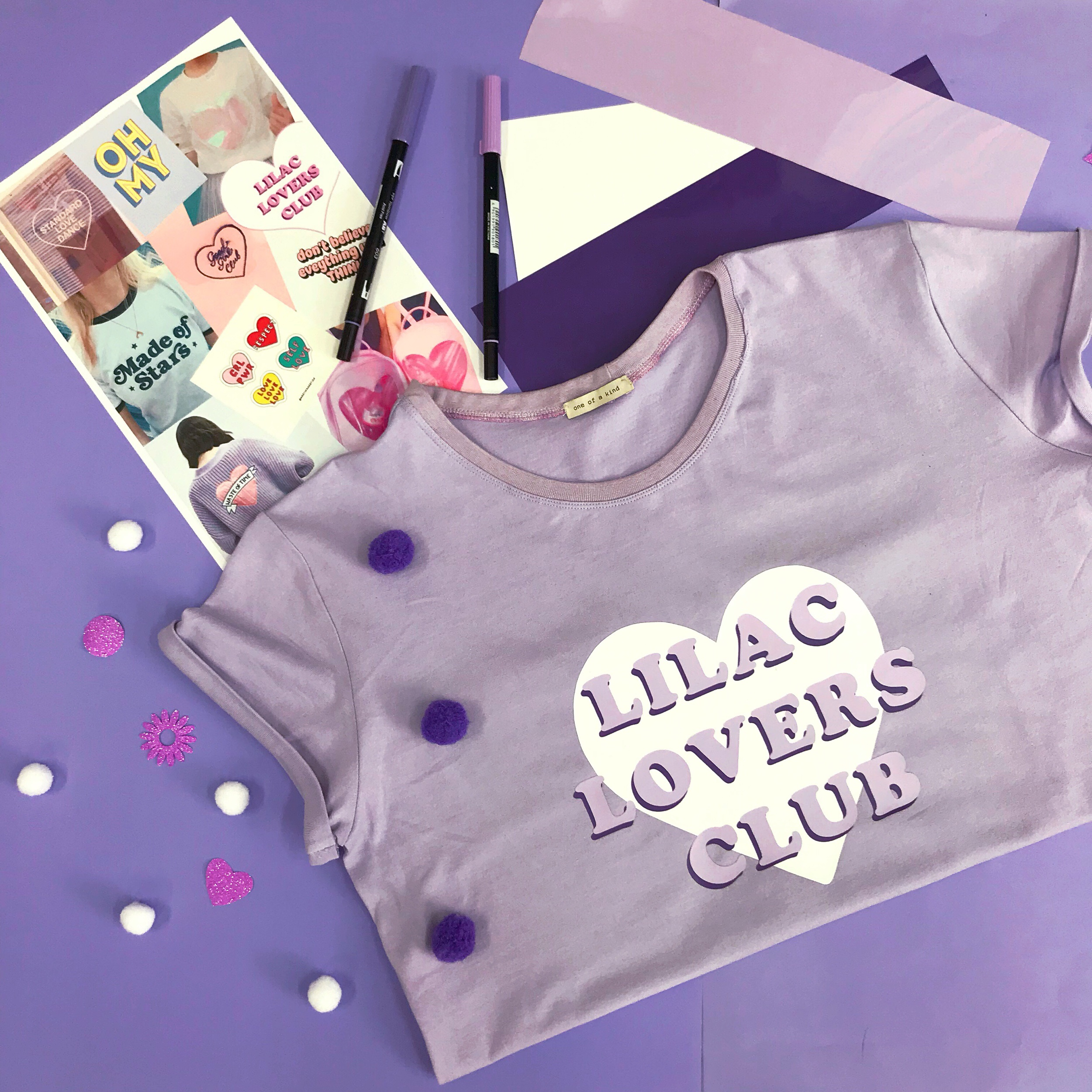 Lilac Lovers Club lets get creative