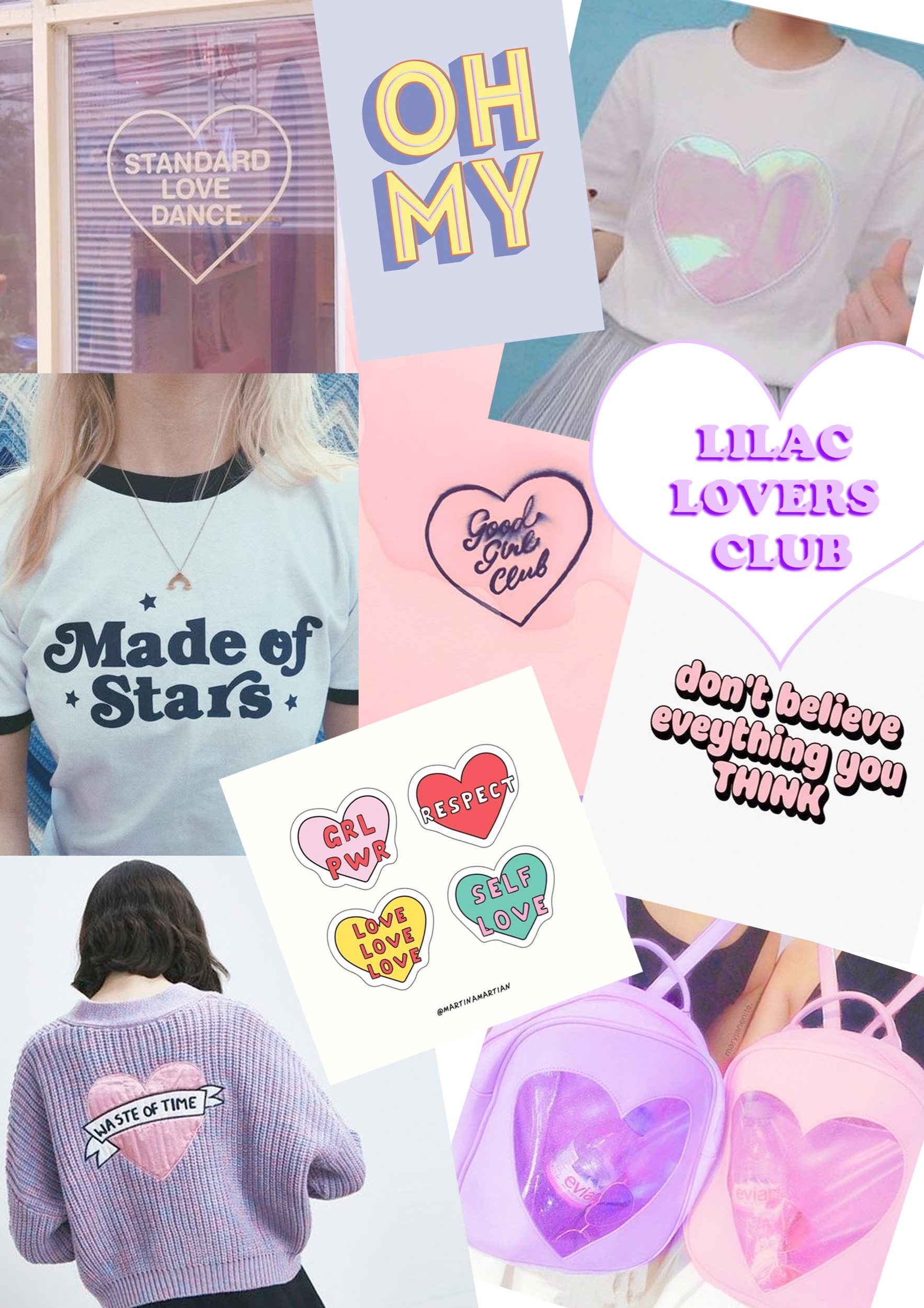 Lilac Lovers Club mood board