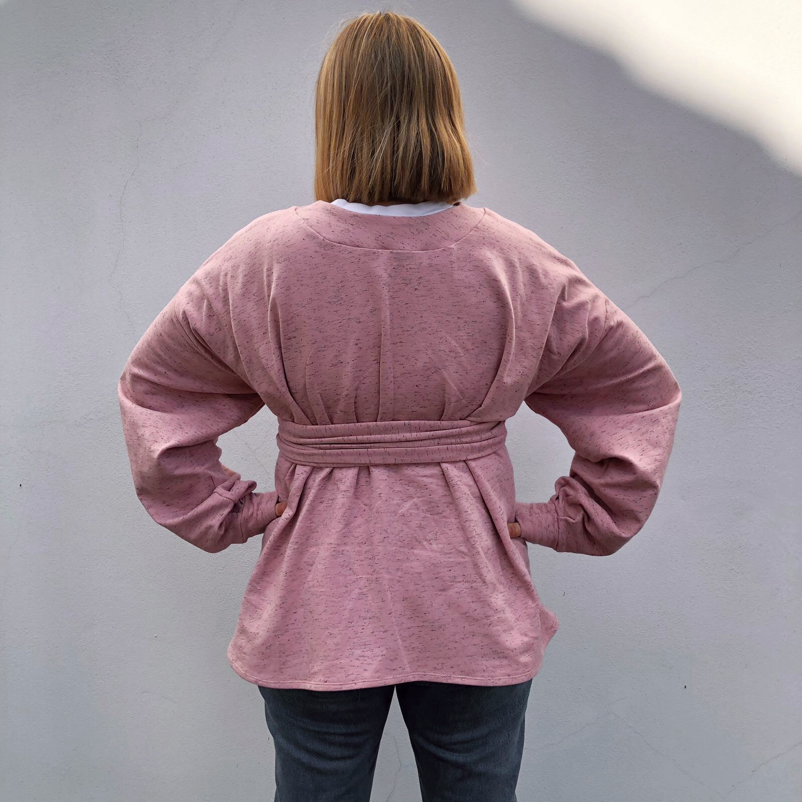 Cut One Pair - Louise's DPL Belted Sweater