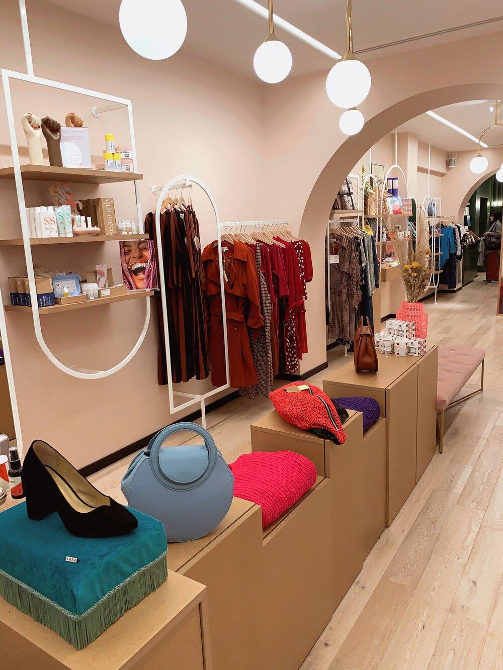 Fabric Shopping in Paris — Cut One Pair
