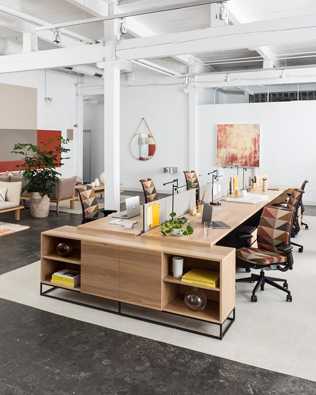The Greenpoint Collection is as versatile as it is sleek. A system of bookshelves, credenzas, benching and private office options – all with a workshop-crafted feel. 👉 Head to westelmWork.com to see what configuration meets your office needs 👨💻👩💻#westelmWork @westelm + @steelcase