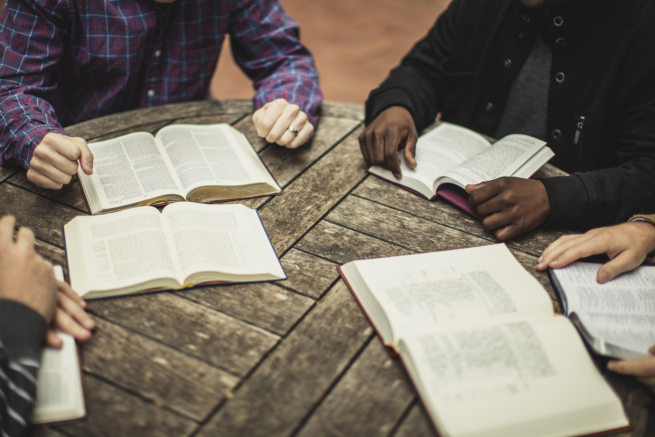 Bible Study - We have Bible study every Wednesday night at 5 and 6:30 pm.