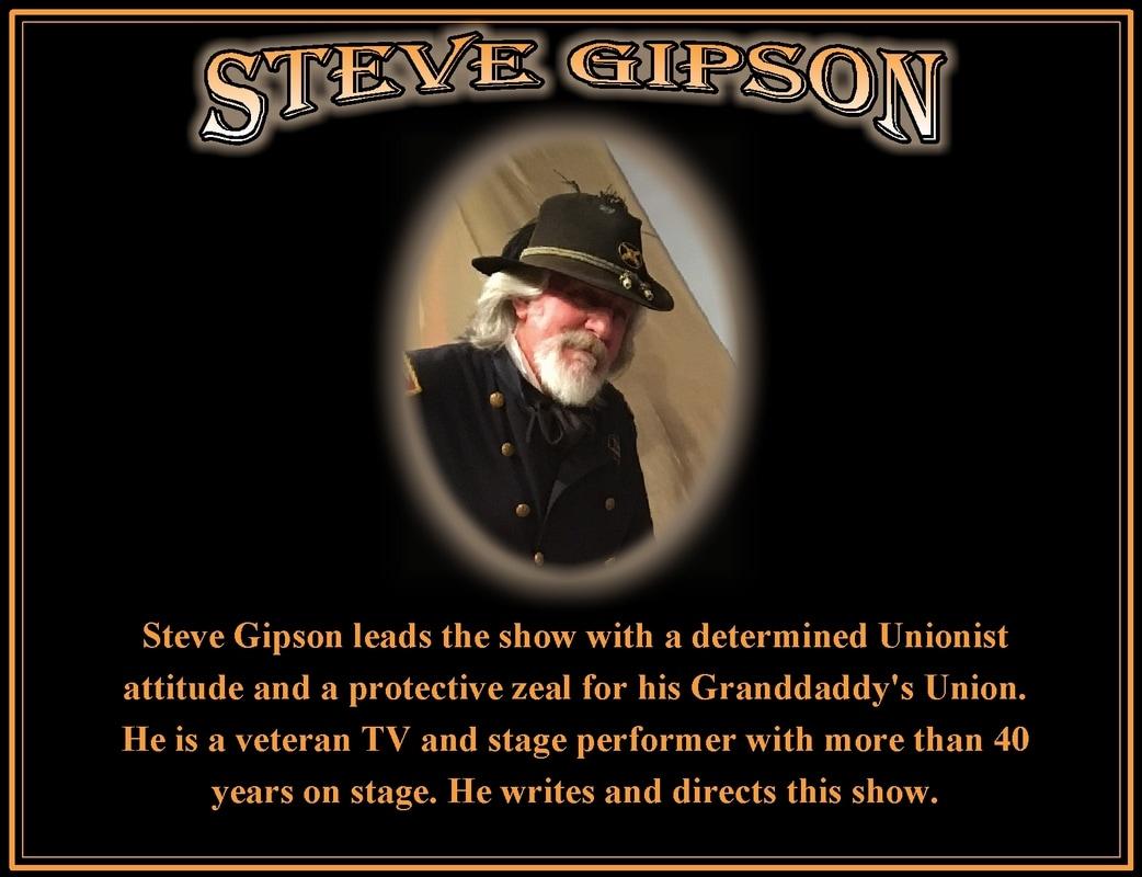 Steve Gipson Buttonwillow Civil War Theater