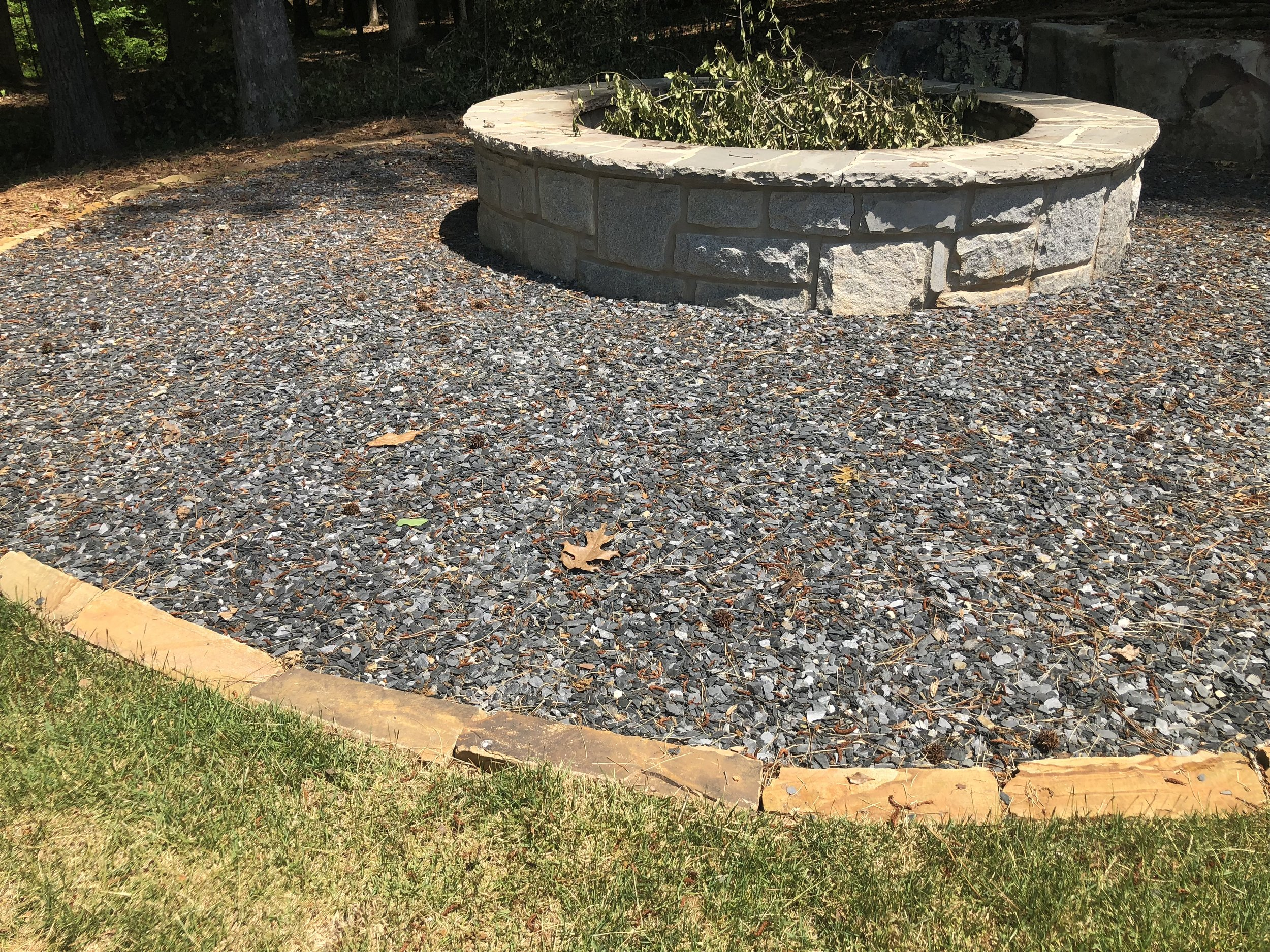 Fire Pit Cobble Edge.JPG
