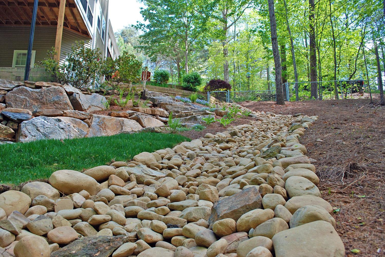 Drainage Upgrade Landscaping